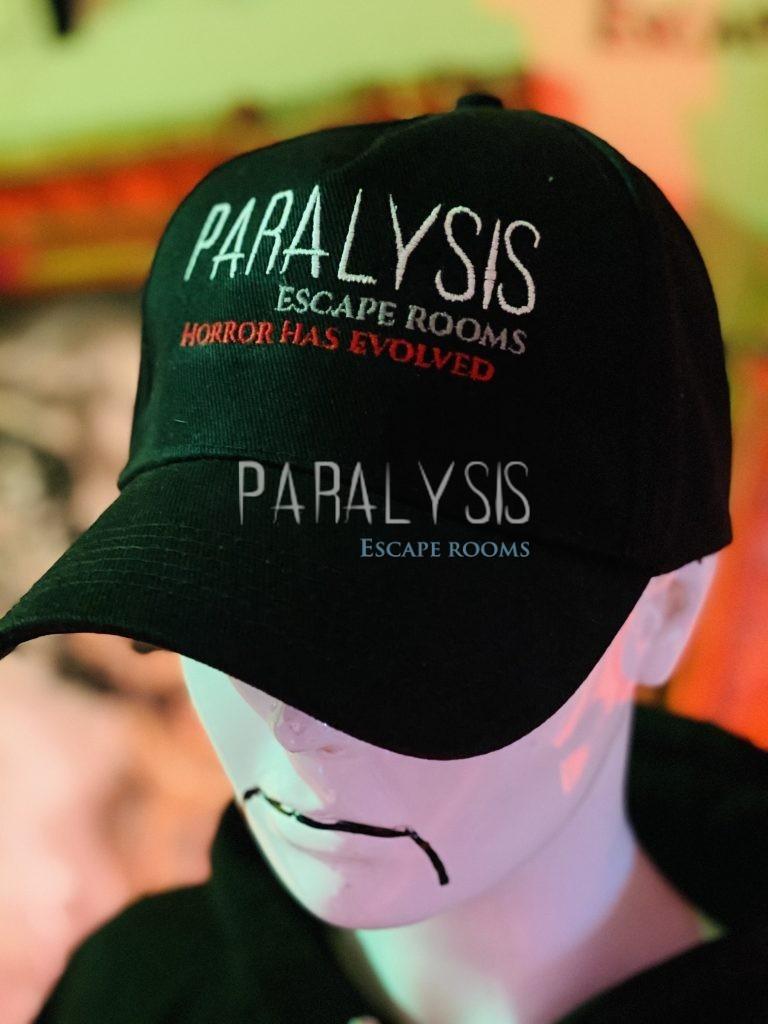 Paralysis Escape Rooms Baseball Cap
