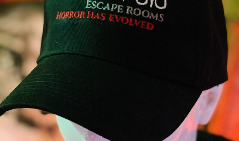 New Paralysis Escape Rooms Merchandise available from today!