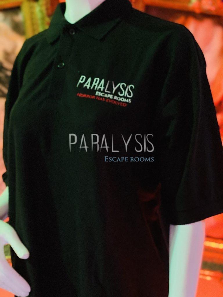 Paralysis Escape Rooms Polo Shirt