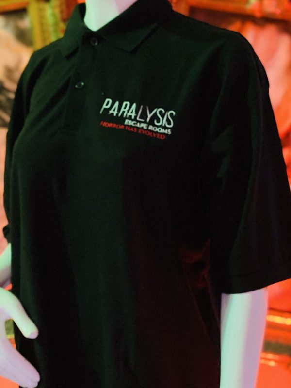 Paralysis Escape Rooms Polo Shirt